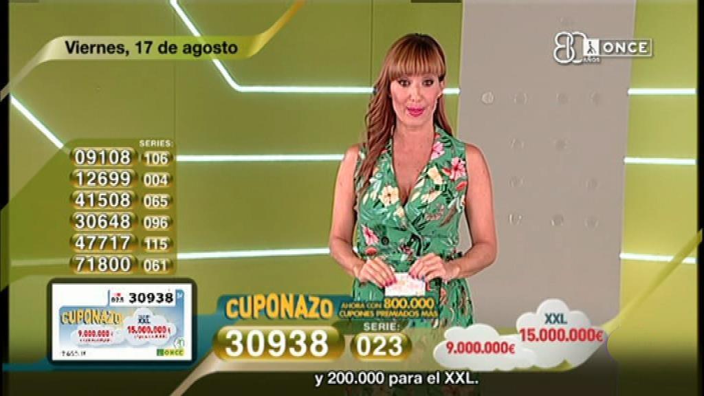 Sorteo ONCE - 17/08/18