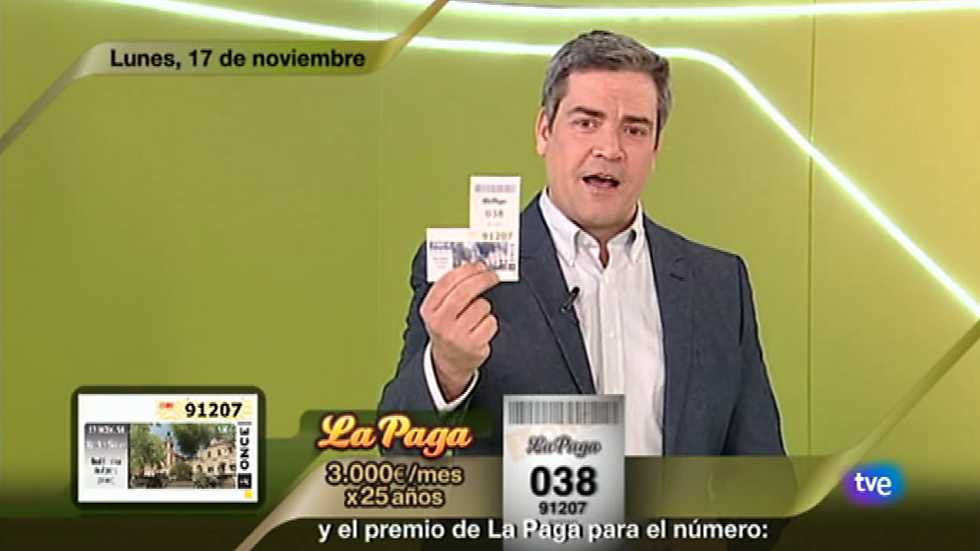 Sorteo ONCE - 17/11/14