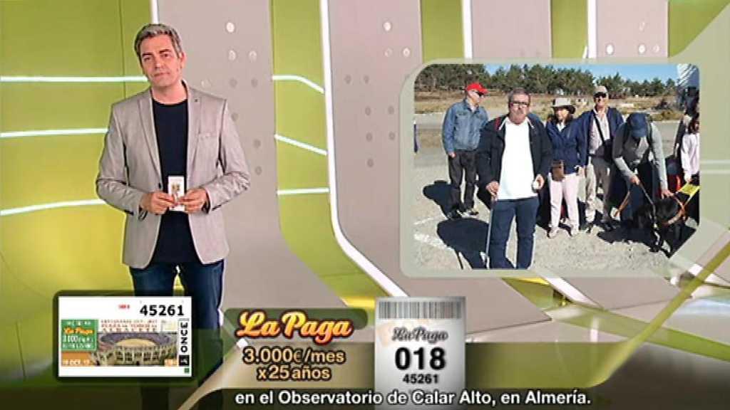 Sorteo ONCE - 19/10/17