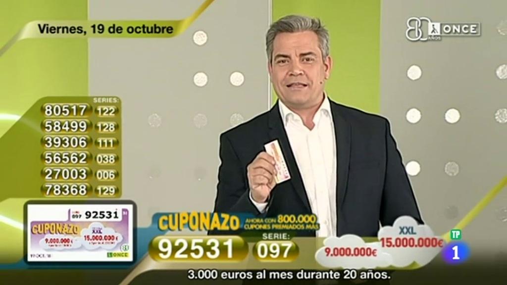 Sorteo ONCE - 19/10/18