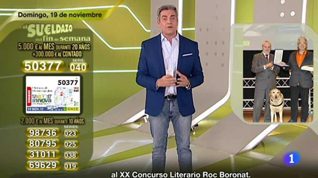 Sorteo ONCE - 19/11/17