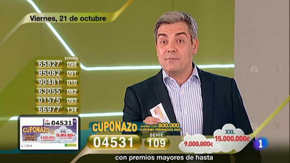 Sorteo ONCE - 21/10/16