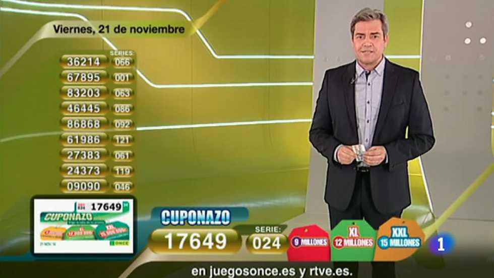 Sorteo ONCE - 21/11/14