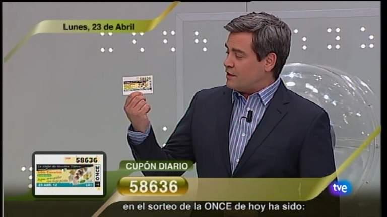 Sorteo ONCE - 23/04/12