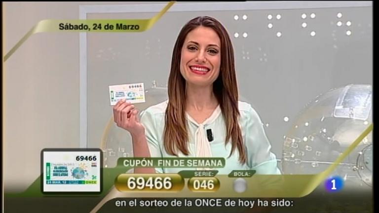 Sorteo ONCE - 24/03/12