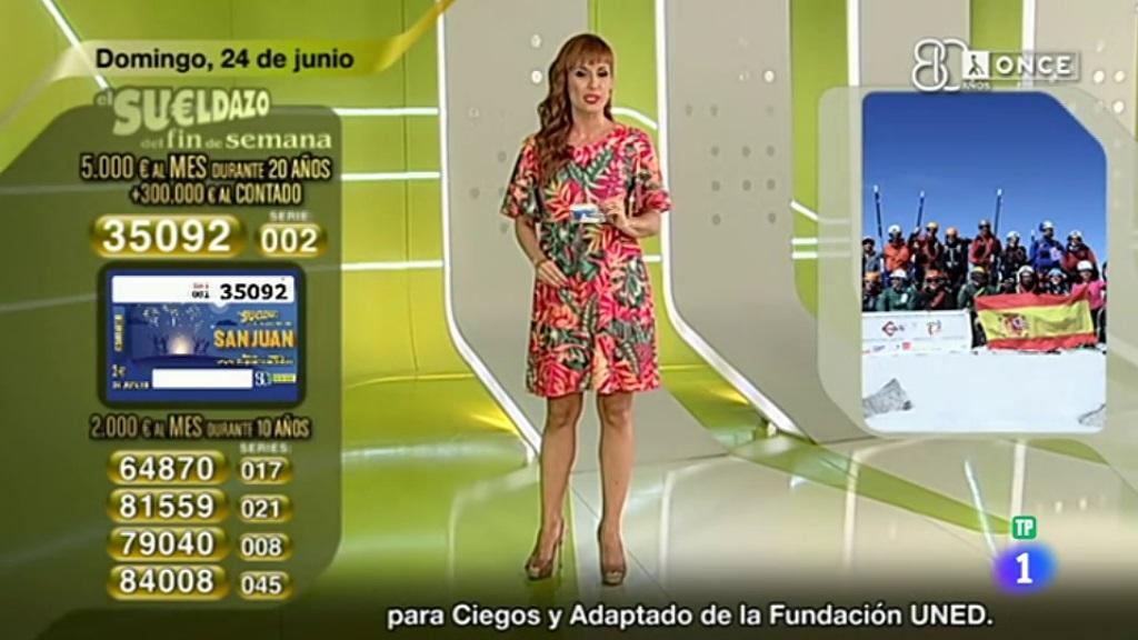 Sorteo ONCE - 24/06/18