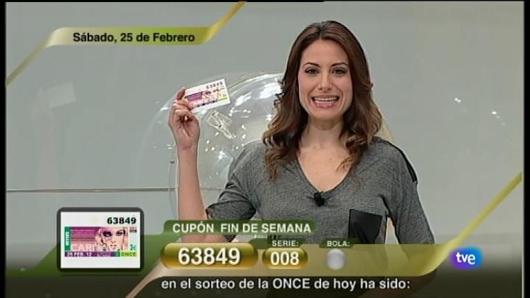 Sorteo ONCE - 25/02/12