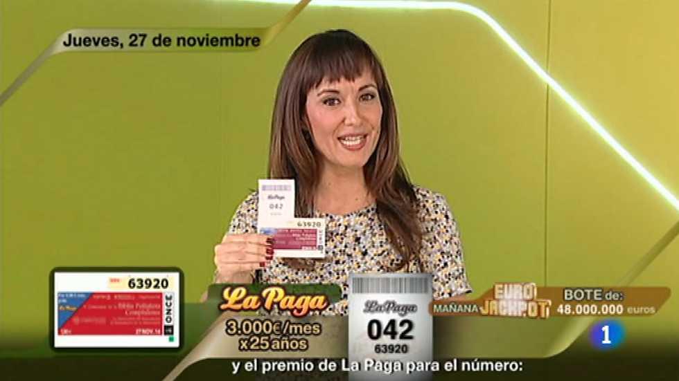 Sorteo ONCE - 27/11/14
