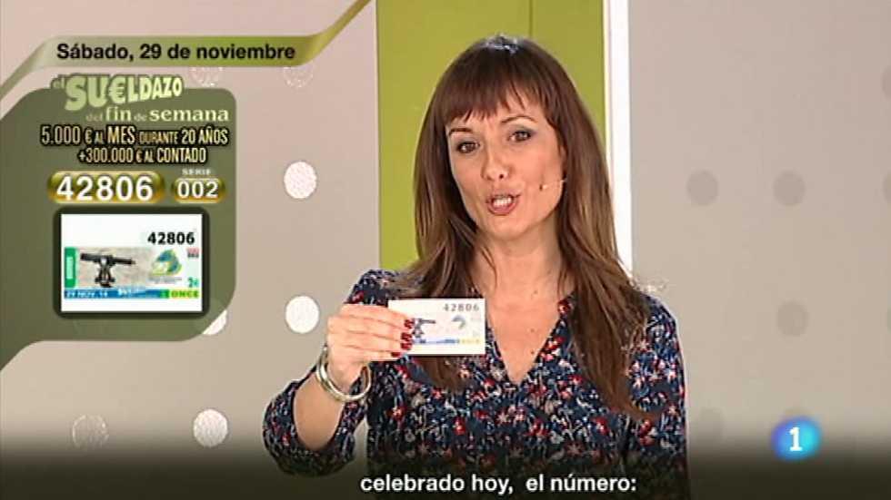 Sorteo ONCE - 29/11/14