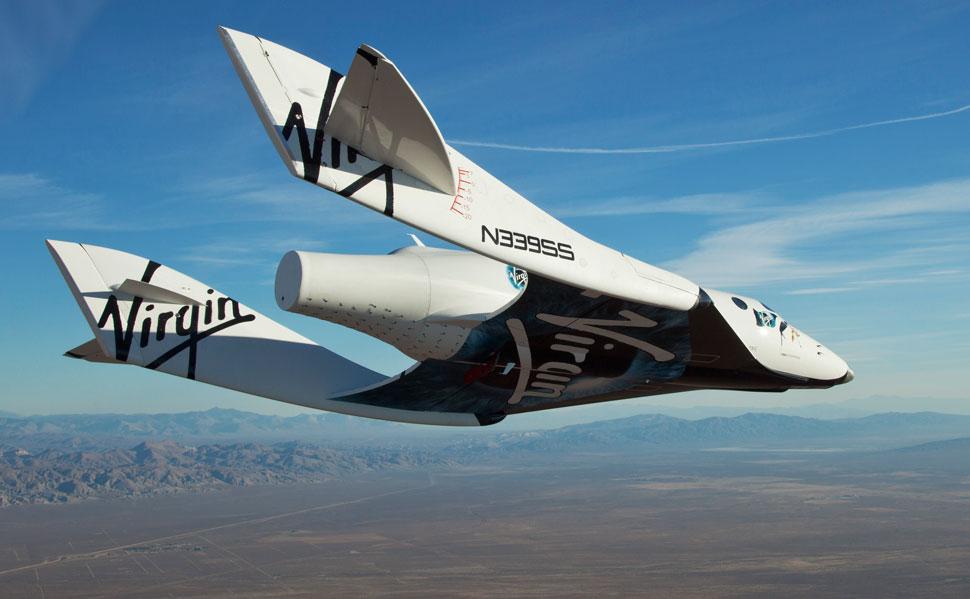 El SpaceShipTwo vuela libre por primera vez