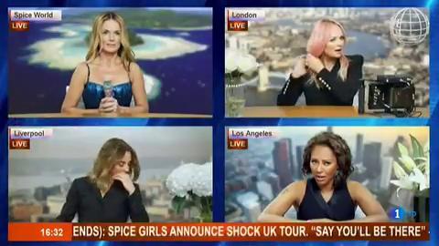 Corazón - Las Spice Girls se reúnen sin Victoria Beckham