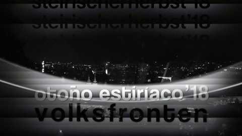 Metrópolis - Steirischer herbst / otoño estiríaco 2018: Volksfronten