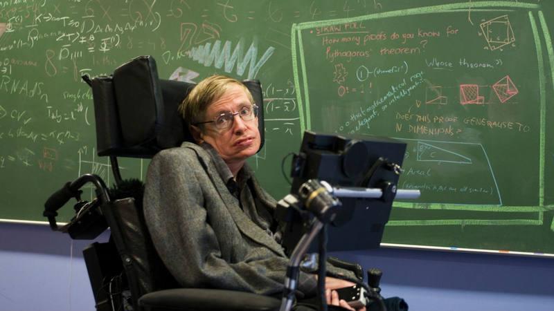 Stephen Hawking nació en 1942, año en el que debutó María Callas