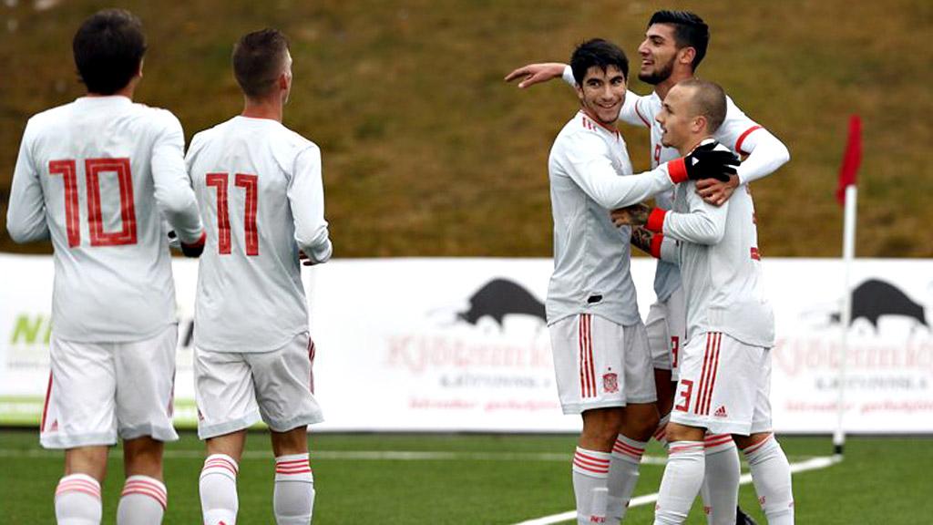 La Sub-21 cierra la clasificación con goleada en Reikiavik (2-7)