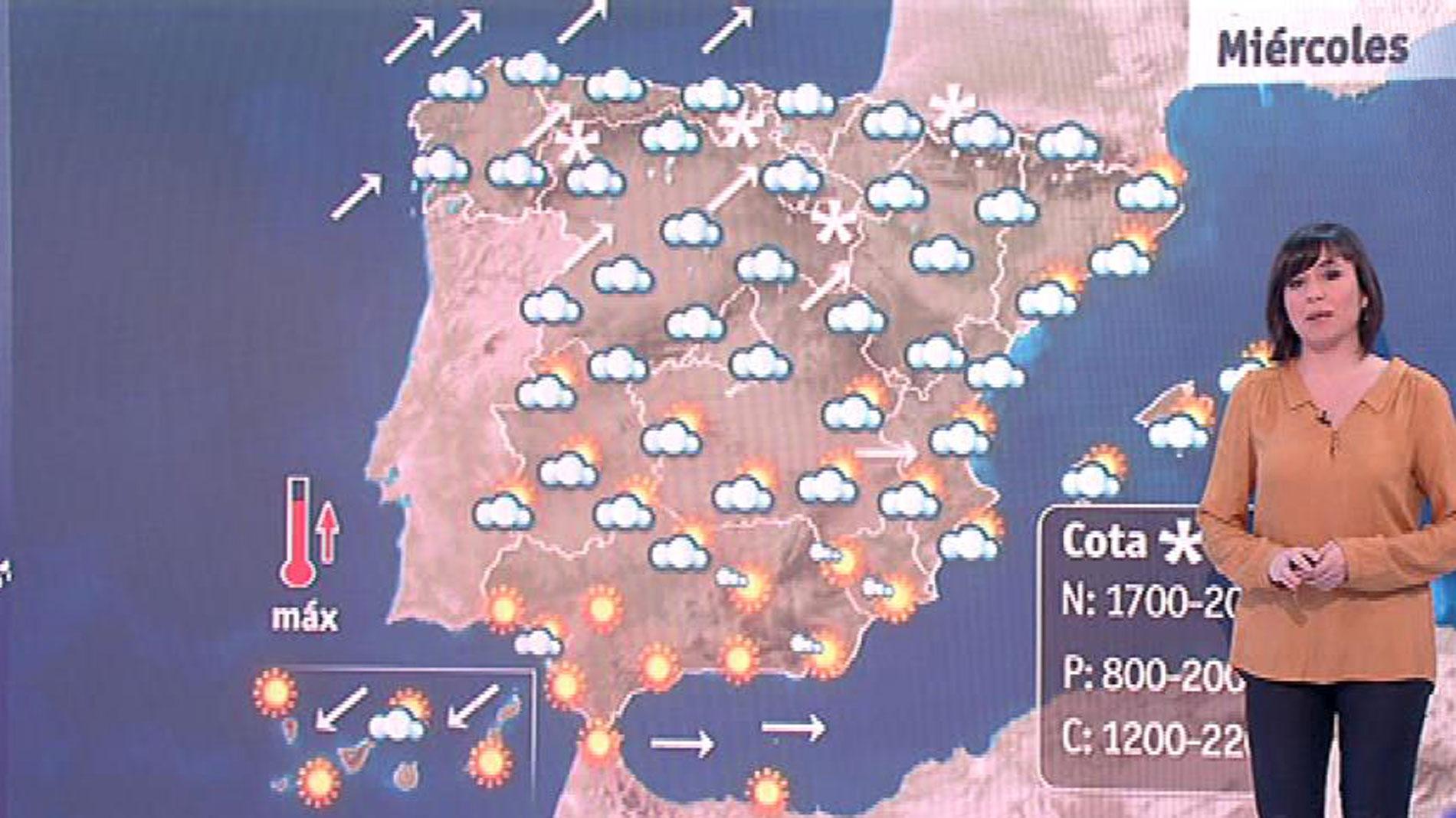 Subida de temperaturas en todo el país