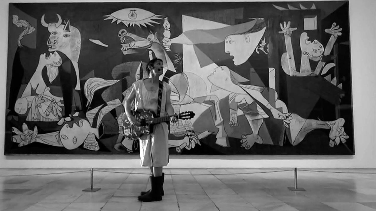 "Suena Guernica - Albert Pla, ""Están cayendo bombas en Madrid"" - 24/05/17"
