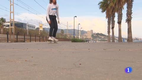 El sueño olímpico de Andrea Benítez, 'skater' española en Tokio 2020
