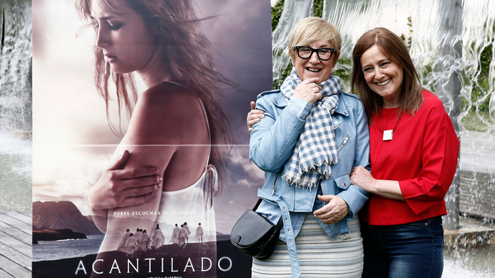 Un suicidio ritual es el punto de partida de 'Acantilado', la nueva película de Helena Taberna