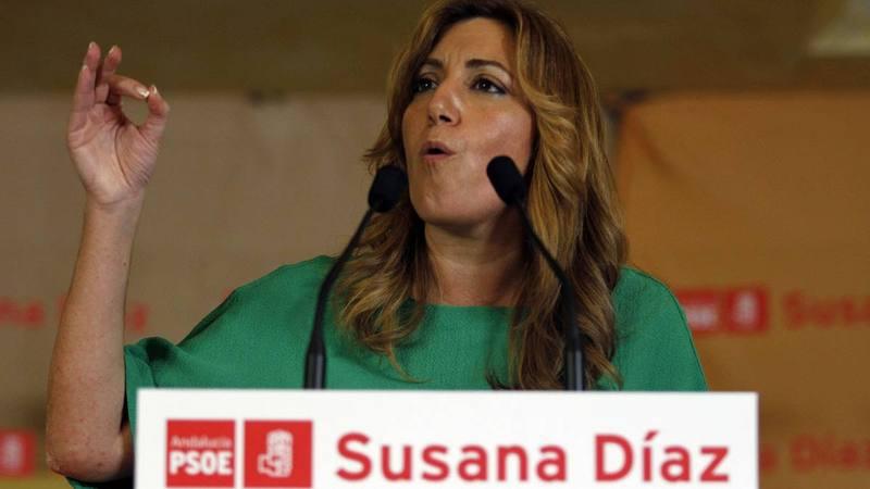 Susana Díaz, en un acto del PSOE andaluz. (EFE)