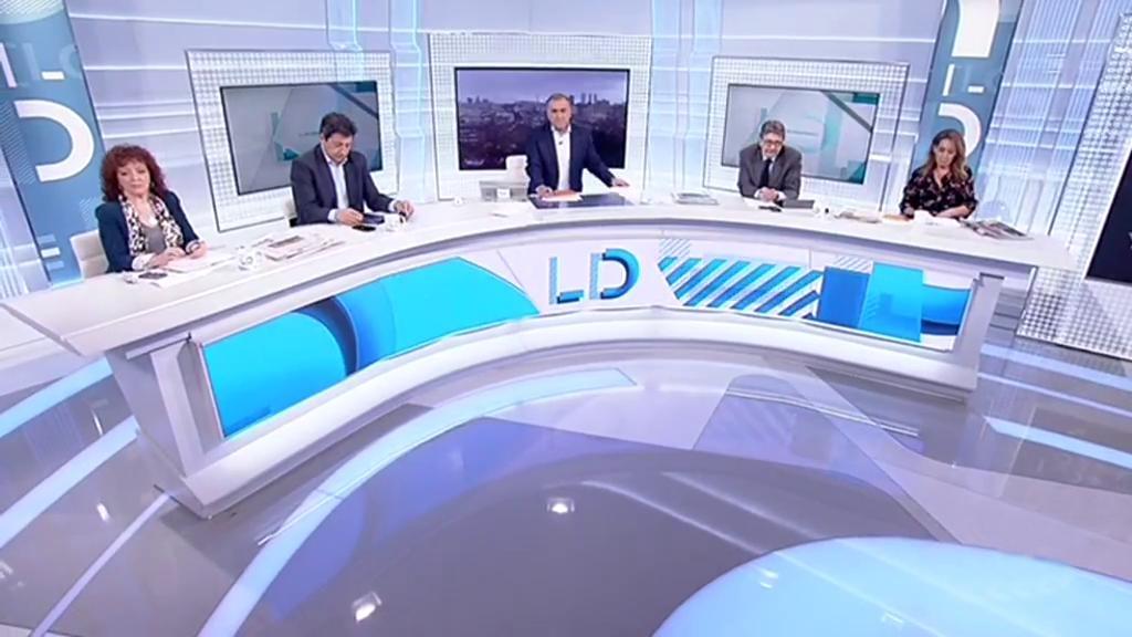 Los desayunos de TVE - Susana Díaz (PSOE);  Juanma Moreno (PP); Antonio Maíllo (Ciudadanos); y Juan Marín (Adelante Andalucía)