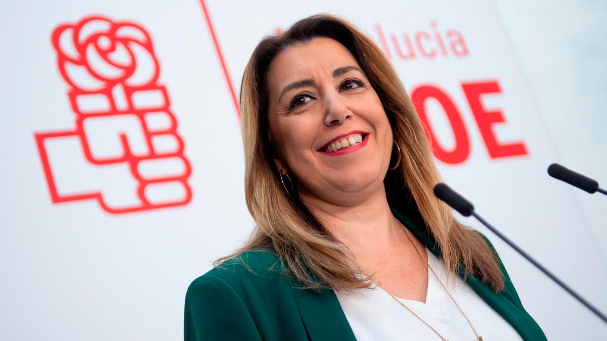 Susana Díaz no se va y liderará la oposición en Andalucía