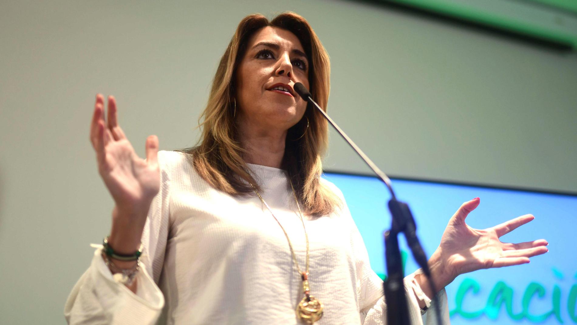 """Susana Díaz: """"Una política canalla de enfrentamiento tóxico no la merecen los andaluces"""""""