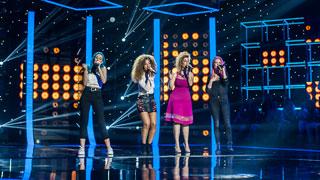 "Fantastic Duo - Sweet California canta ""Vuelves"" junto a Lorena Jamco"