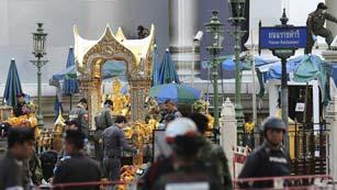 Tailandia eleva a 21 los muertos en el atentado de Bangkok