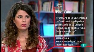 La Aventura del Saber. TVE. Taller de español. Lola Pons. Los signos de puntuación