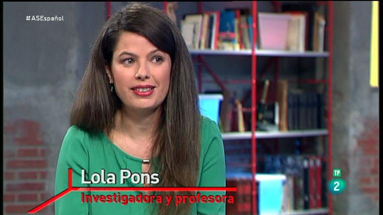 La Aventura del Saber. Taller de español. Lola Pons. Uso del pretérito en nuestros verbos