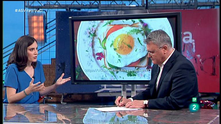 La Aventura del Saber. TVE. Taller de nutrición. Marián García. Vitamina D