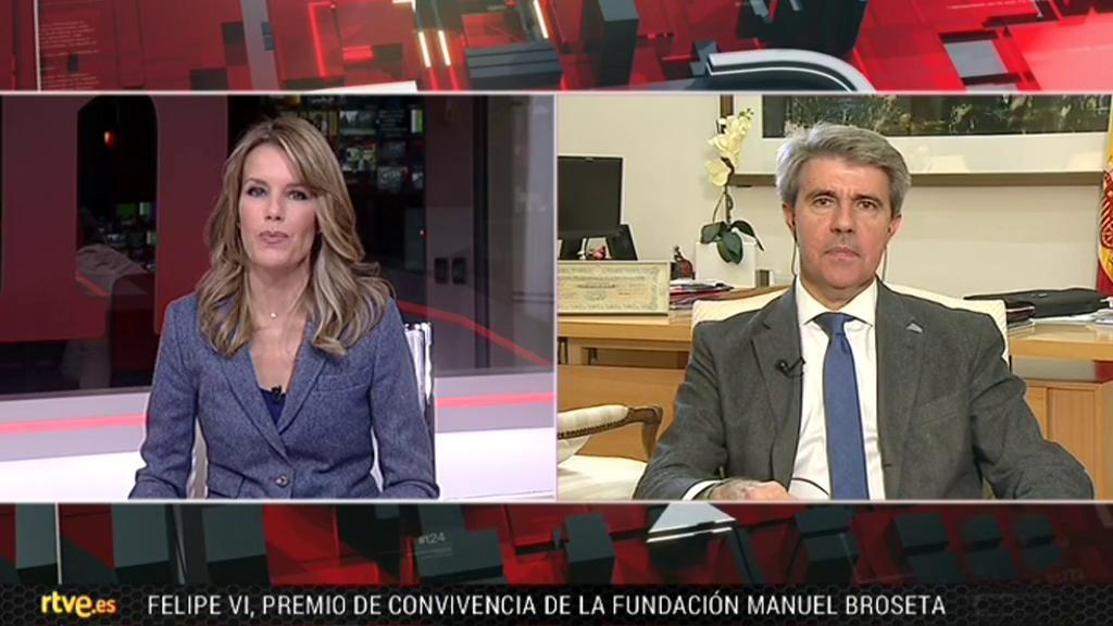 La tarde en 24 horas - Entrevista: Ángel Garrido