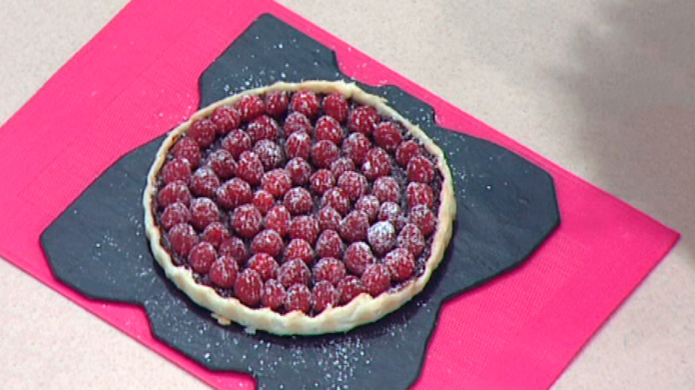 Escuela de pastelería: Tarta de chocolate y frambuesa