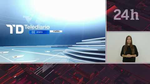 Telediario - 15 horas - 02/01/18 - Lengua de signos