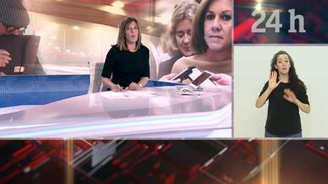 Telediario - 15 horas - 05/11/18 - Lengua de signos