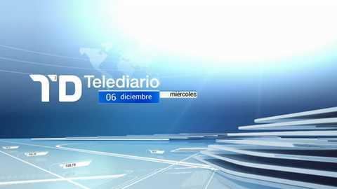 Telediario - 15 horas - 06/12/17