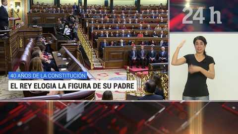 Telediario - 15 horas - 06/12/18 - Lengua de signos