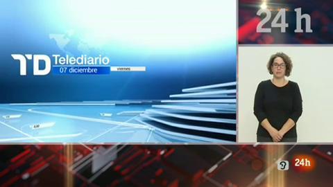 Telediario - 15 horas - 07/12/18 - Lengua de signos