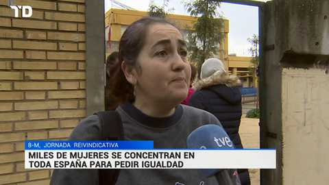 Telediario - 15 horas - 08/03/18