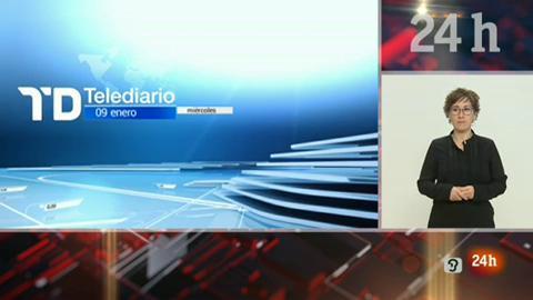 Telediario - 15 horas - 09/01/19 - Lengua de signos