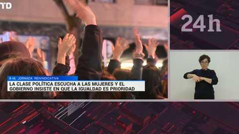 Telediario - 15 horas - 09/03/18 - Lengua de signos