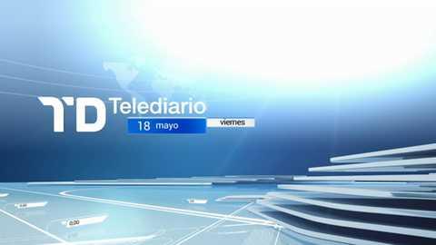 Telediario - 15 horas - 18/05/18