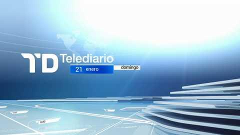 Telediario - 15 horas - 21/01/18