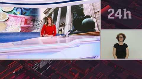 Telediario - 15 horas - 24/04/18 - Lengua de signos