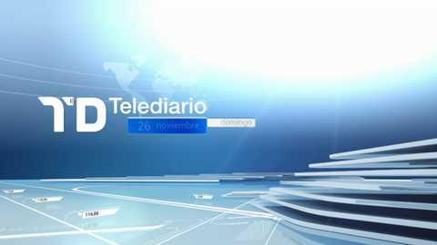 Telediario - 15 horas - 26/11/17