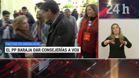 Telediario - 21 horas - 04/12/18 - Lengua de signos
