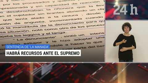 Telediario - 21 horas - 05/12/18 - Lengua de signos