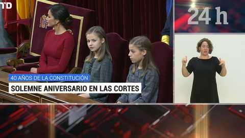 Telediario - 21 horas - 06/12/18 - Lengua de signos