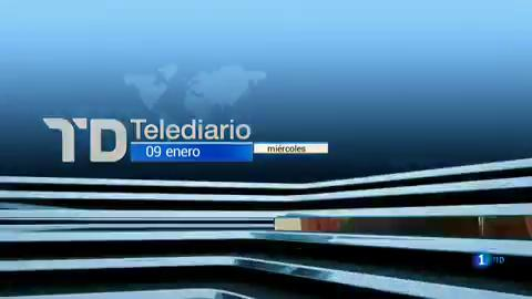 Telediario - 21 horas - 09/01/19