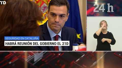 Telediario - 21 horas - 11/12/18 - Lengua de signos